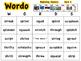 Beginning Clusters WORDO (Bingo Game)