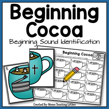 Beginning Cocoa - Beginning Sound Identification