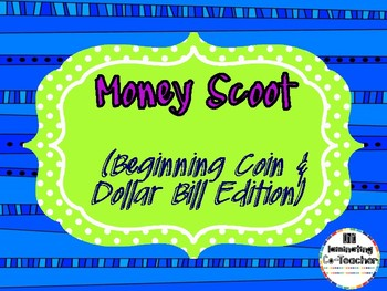 Beginning Coin Combination Story Problem Scoot [CC Aligned]