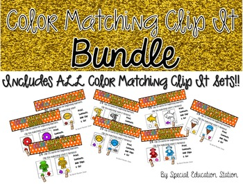 Beginning Color Matching Clip It *Growing Bundle*