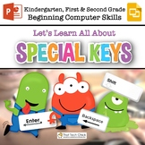 Beginning Computer Skills: Special Keys for Gr K-2 Google Slides & PowerPoint