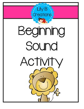 Beginning Sound Activity