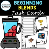 Beginning Consonant Blend Task Cards (Scoot, Write the Roo