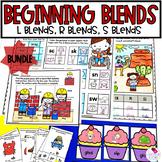 Beginning Consonant Blends S Blends, R Blends, L Blends***BUNDLE***