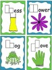 Beginning Consonant Blends, Black and White and Colored Task Cards