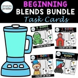 Beginning Consonant Blends Bundle (Scoot, Write the Room, Center)