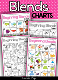 Beginning Consonant Blends Charts