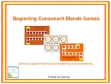 Beginning Consonant Blends Games- Fall Theme