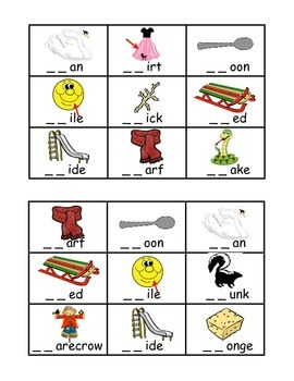 Beginning Consonant Blends MegaPack: Bingo, Stories, Poems, Sorts, & Much More!