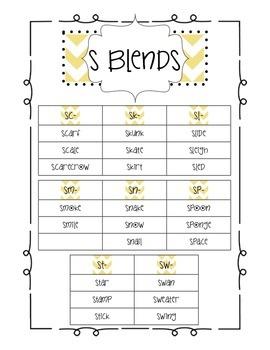 Beginning Consonant Blends MegaPack: Bingo, Stories, Poems, Sorts, & Much More!