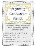 Beginning Consonant Blends MegaPack: Bingo, Stories, Poems