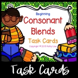 Beginning Consonant Blends Task Cards