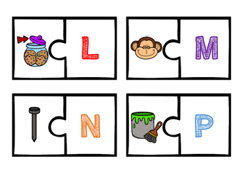 Beginning Consonant Center Activities