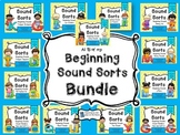 Beginning Consonant Sound Sorts Bundle
