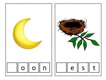 Beginning Consonant Sound Task Box/ Activity