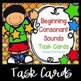 Beginning Consonant Sound Task Cards
