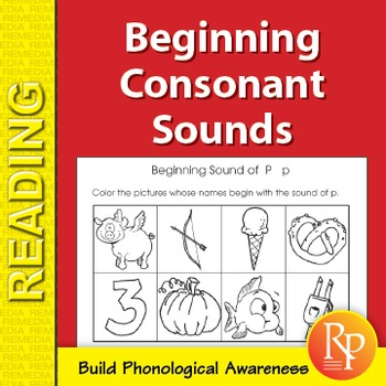 Beginning Consonant Sounds