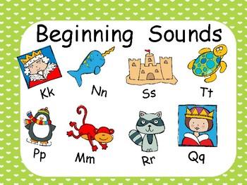 Beginning Consonant Sounds