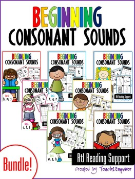 Beginning Consonant Sounds BUNDLE