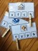 Beginning Consonant Sounds Clip Cards Autism, ABA, Kindergarten