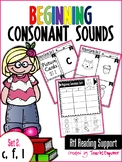 Beginning Consonant Sounds Set 2: C, F, L