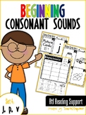 Beginning Consonant Sounds Set 4: J, P, V