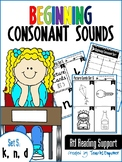 Beginning Consonant Sounds Set 5: K, N, D
