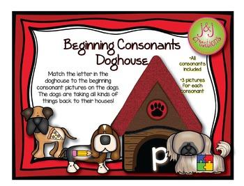 Beginning Consonants Doghouse