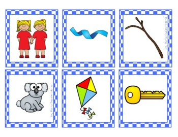 Beginning Consonants Game k, qu, tw, wh