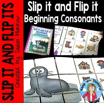 Beginning Consonants Slip It and Flip It