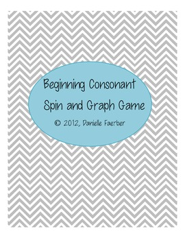 Beginning Consonants Spin and Graph
