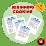 Beginning Cooking - Foods Science
