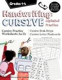 Beginning Cursive Handwriting Practice Set (Worksheets, Fl