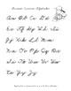 Beginning Cursive: Uppercase Cursive Letter Handwriting Practice Workbook