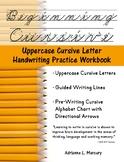 Beginning Cursive: Uppercase Cursive Letter Handwriting Pr