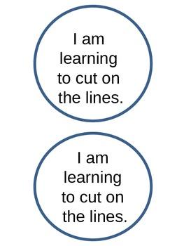 Beginning Cutting Practice.