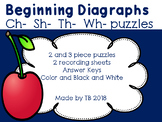 Beginning Diagraph Puzzles