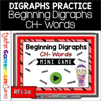 Beginning Digraphs Ch Mini Game