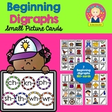 Beginning Diagraphs Picture Cards {For Small Pocket Charts} for K-1
