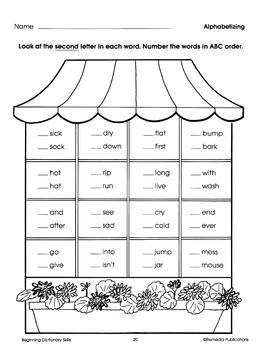 Beginning Dictionary Skills