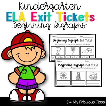 Beginning Digraph Exit Tickets