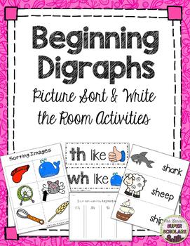 Beginning Digraph Sort/ Write the Room