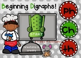 Beginning Digraph Sounds Power Point Game with Audio (Cook