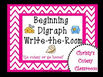 Beginning Digraph Write-the-Room