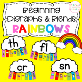 Blends and Digraphs Rainbows