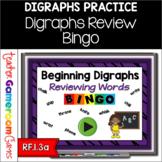 Beginning Digraphs Bingo Powerpoint Game