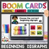 Beginning Digraphs Boom Cards for Kindergarten