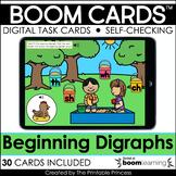 Beginning Digraphs | Boom Cards for Kindergarten Distance