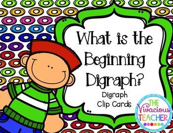 Beginning Digraphs Clip Cards