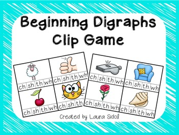 Beginning Digraphs Clip Game